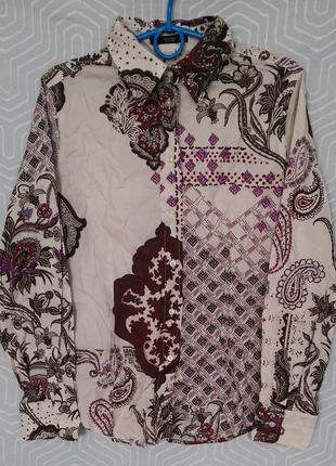 Etro italy рубашка оригинал размер 46