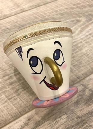 Кошелёк в форме чашки «чип»