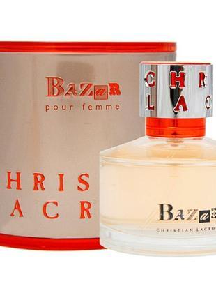 Читайте описание!парфюмированная вода bazar christian lacroix , распив