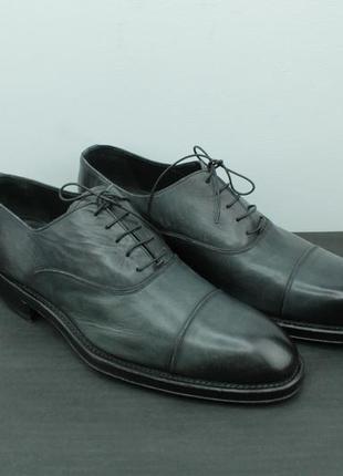 Премиальные туфли ручной работы silany handmade derby shoes