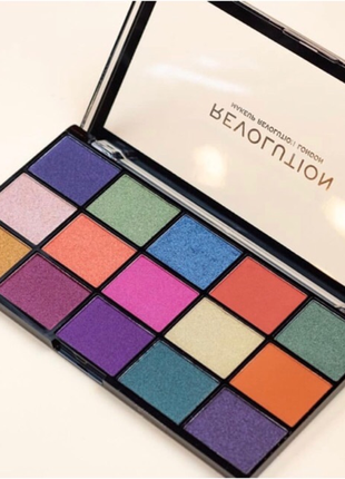 Акция до 28.02 палетка теней для век makeup revolution reloaded palette passion for colour