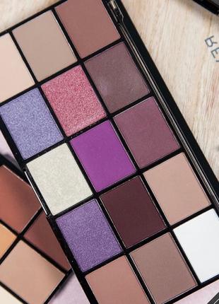Акция до 28.02 палетка теней для век makeup revolution reloaded palette visionary