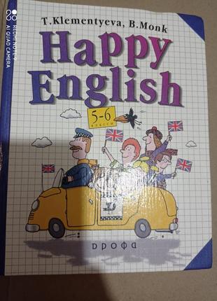 Английский язык happy english клементьева, монк. увеличенный формат а5