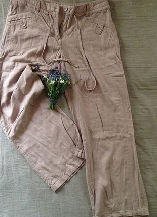 Льняные штаны для женщин