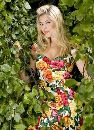 Распродажа платье karen millen c ярким принтом и поясом c cайта asos4 фото