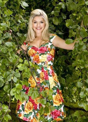 Распродажа платье karen millen c ярким принтом и поясом c cайта asos6 фото