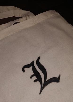 Шоппер еко сумка аниме death note l кастом