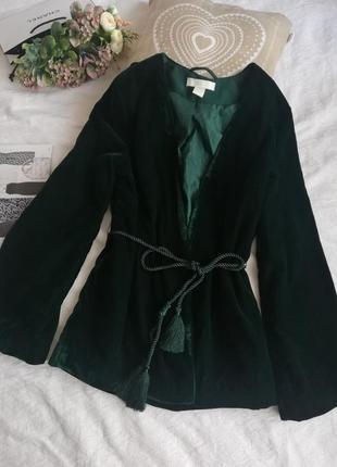 Просто шикарний піджак, кімано  н&м. велюровий, а цей колір 💓