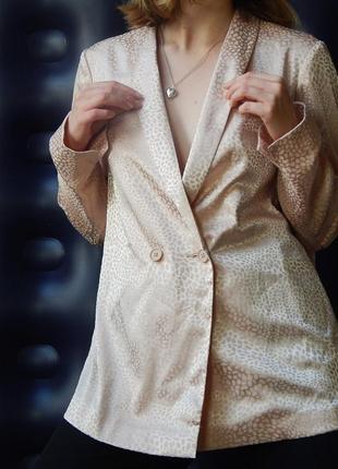 Пиджик рубашка персикового цвета