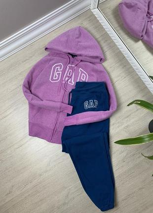 Gap гап женский костюм оригинал спортивный тёплый худи кофта штаны джоггеры