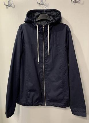 Мужская синие демисезонная куртка «livergy», размер 52