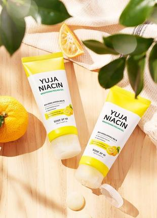 ✨пилинг-гель для осветления кожи лица some by mi yuja niacin  peeling gel - 120 мл