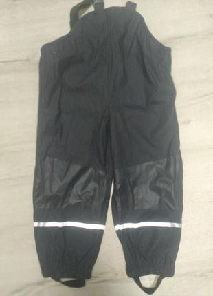 Грязепруфы, дождевые штаны lupilu