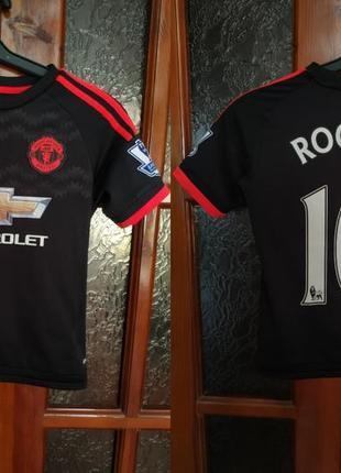 Футболка футбольная rooney manchester united