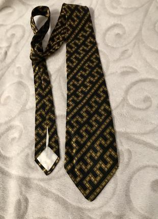 Винтажный галстук nina ricci,100% шёлк,vintage