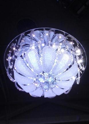 Люстра во светодиодной подсветкой и пультом дистанционного управления d=50 см