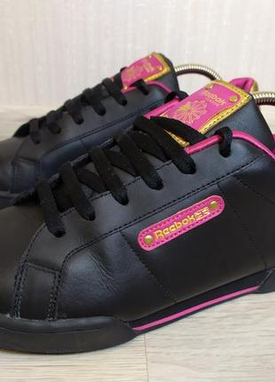 Кожаные кроссовки кеды reebok classic