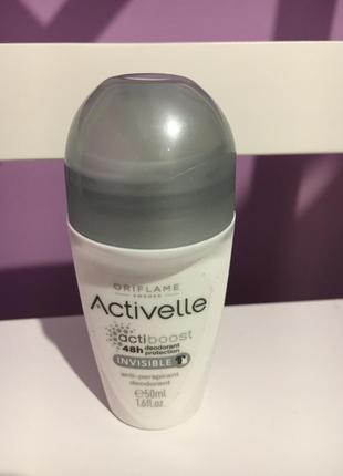 Шариковый дезодорант-антиперспирант без белых следов