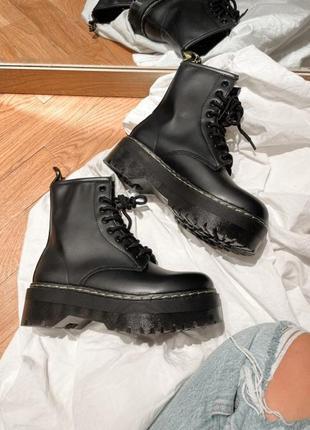 Ботинки в стиле мартинсы,обувь осень, обувь, обувь зима