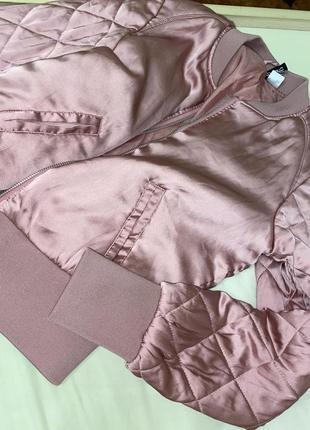Куртка ,цвет пудра
