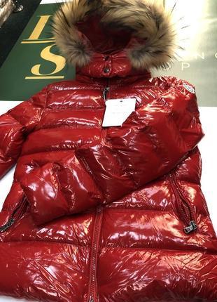 Шикарная куртка moncler пуховик