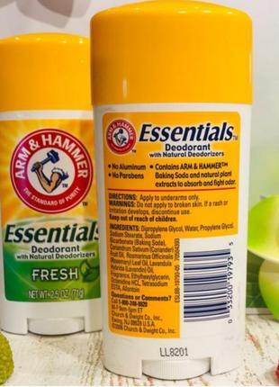 Essantials national,iherb, большая упаковка, дезодорант, антиперспирант