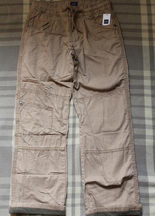 Брюки, штаны gap на коттоновой подкладке, 10-11