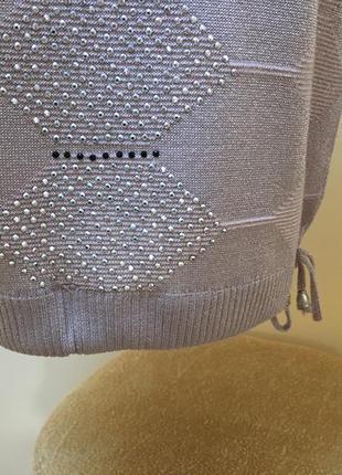 Кофтинка на зав'язках ніжно-пудрового кольору🌸🌸🌸6 фото