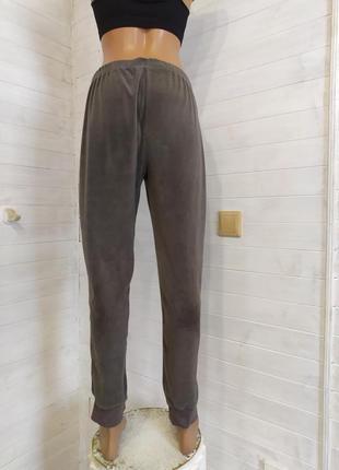 Красивые велюровые спортивные штаны, есть небольшой-незаметный брак2 фото