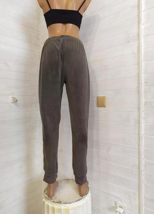 Красивые велюровые спортивные штаны, есть небольшой-незаметный брак4 фото