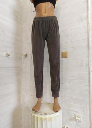 Красивые велюровые спортивные штаны, есть небольшой-незаметный брак3 фото