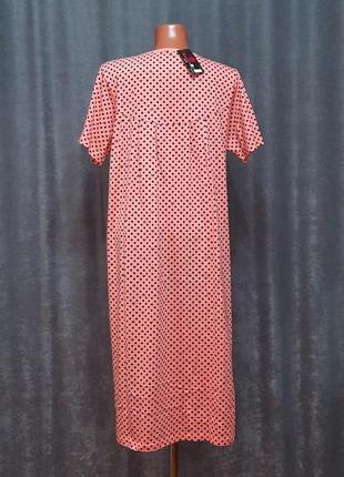 Ночнушка, нічна сорочка, ночная рубашка fazor 50-58р.2 фото