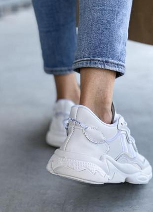Adidas ozweego 🍏 стильные женские мужские кроссовки адидас озвиго7 фото