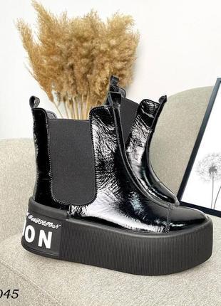 Ботинки на платформе1 фото