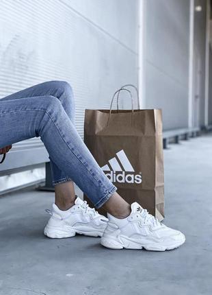 Adidas ozweego 🍏 стильные женские мужские кроссовки адидас озвиго5 фото