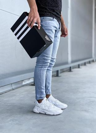 Adidas ozweego 🍏 стильные женские мужские кроссовки адидас озвиго8 фото