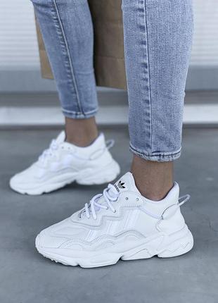 Adidas ozweego 🍏 стильные женские мужские кроссовки адидас озвиго1 фото