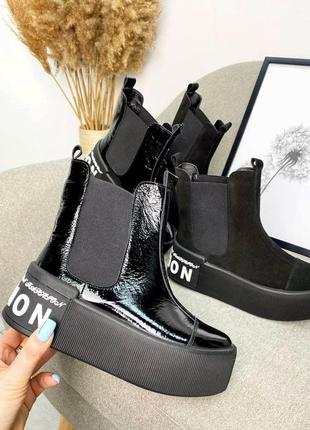 Ботинки на платформе3 фото