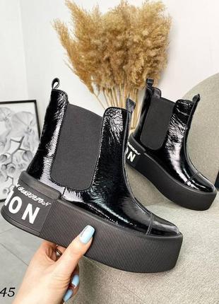 Ботинки на платформе6 фото