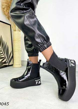 Ботинки на платформе5 фото