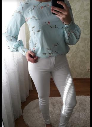 Белые джинсы2 фото