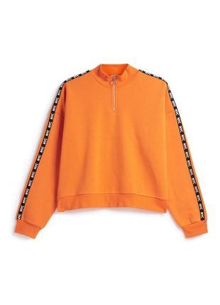 Худи кофта свитшот свитер реглан джемпер укороченый оверсайз xl xxl primark 14/16р1 фото