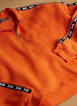 Худи кофта свитшот свитер реглан джемпер укороченый оверсайз xl xxl primark 14/16р2 фото