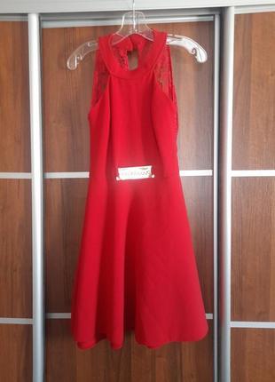 Червона сукня1 фото