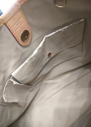Сумка тоут номерная louis vuitton monogram galliera gm, платок в подарок .9 фото