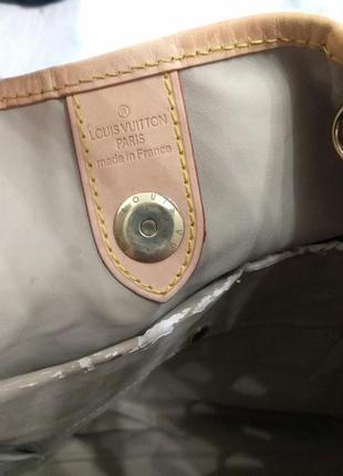 Сумка тоут номерная louis vuitton monogram galliera gm, платок в подарок .6 фото