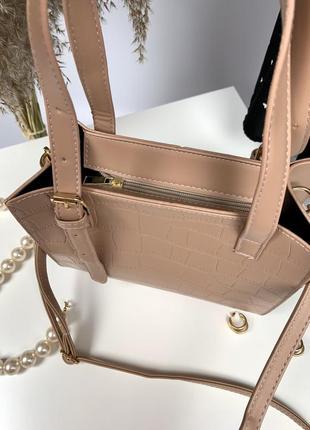 Нова вміста сумка з довгою та короткою ручками2 фото