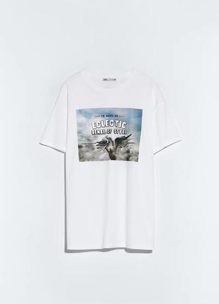 Стильная футболка zara4 фото
