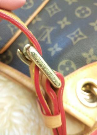Сумка тоут номерная louis vuitton monogram galliera gm, платок в подарок .5 фото