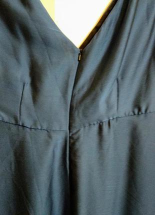 Шикарное переливающееся макси платье 20/54-56 размера5 фото
